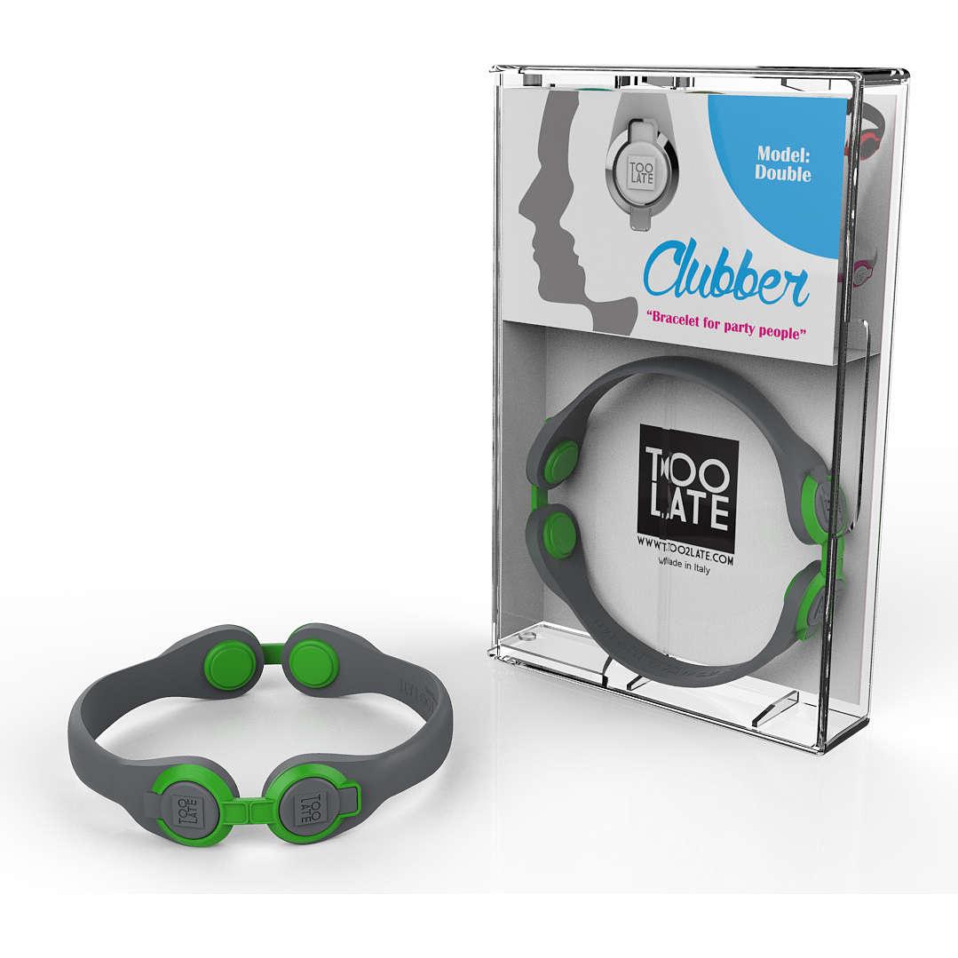 bracelet unisex bijoux Too late Clubber 8052745222515