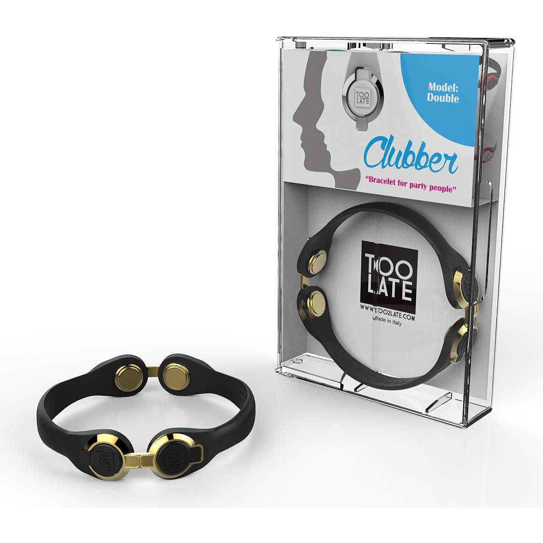 bracelet unisex bijoux Too late Clubber 8052745222553