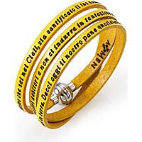 bracelet unisex jewellery Amen Padre Nostro Italiano AM-PNIT11-54