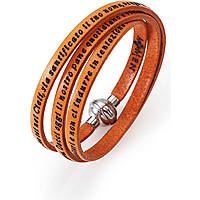 bracelet unisex jewellery Amen Padre Nostro Italiano AM-PNIT12-57
