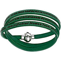 bracelet unisex jewellery Amen Padre Nostro Latino AM-PNLA03-54