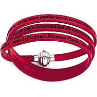bracelet unisex jewellery Amen Padre Nostro Latino AM-PNLA08-57