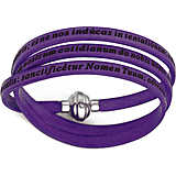 bracelet unisex jewellery Amen Padre Nostro Latino AM-PNLA09-60