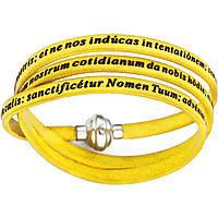 bracelet unisex jewellery Amen Padre Nostro Latino AM-PNLA11-60