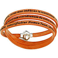 bracelet unisex jewellery Amen Padre Nostro Latino AM-PNLA12-57