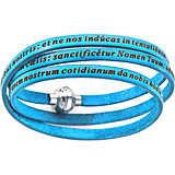 bracelet unisex jewellery Amen Padre Nostro Latino AM-PNLA13-60