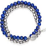 bracelet unisex jewellery Amen San Benedetto BR2SBBL