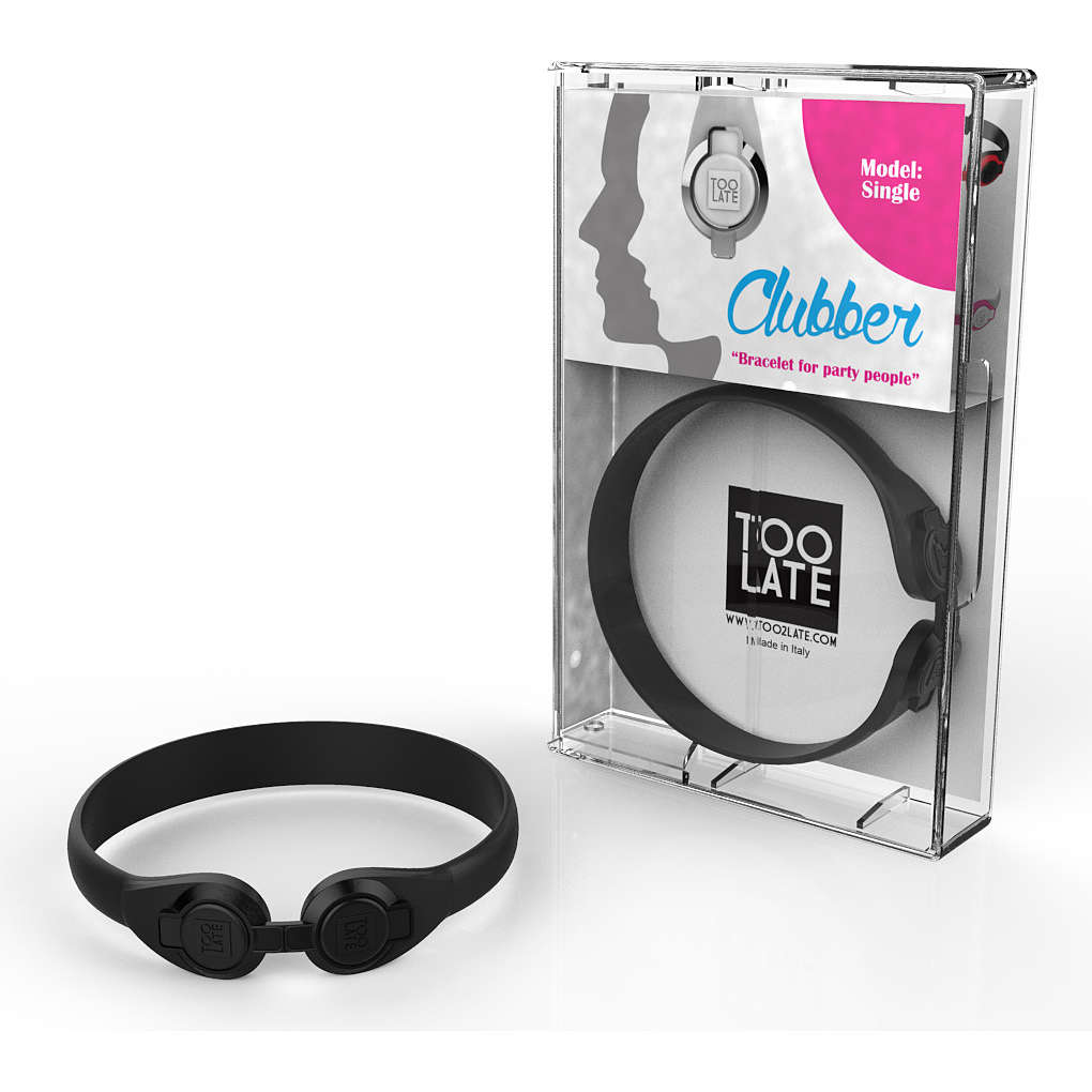 bracelet unisex jewellery Too late Clubber 8052745222393