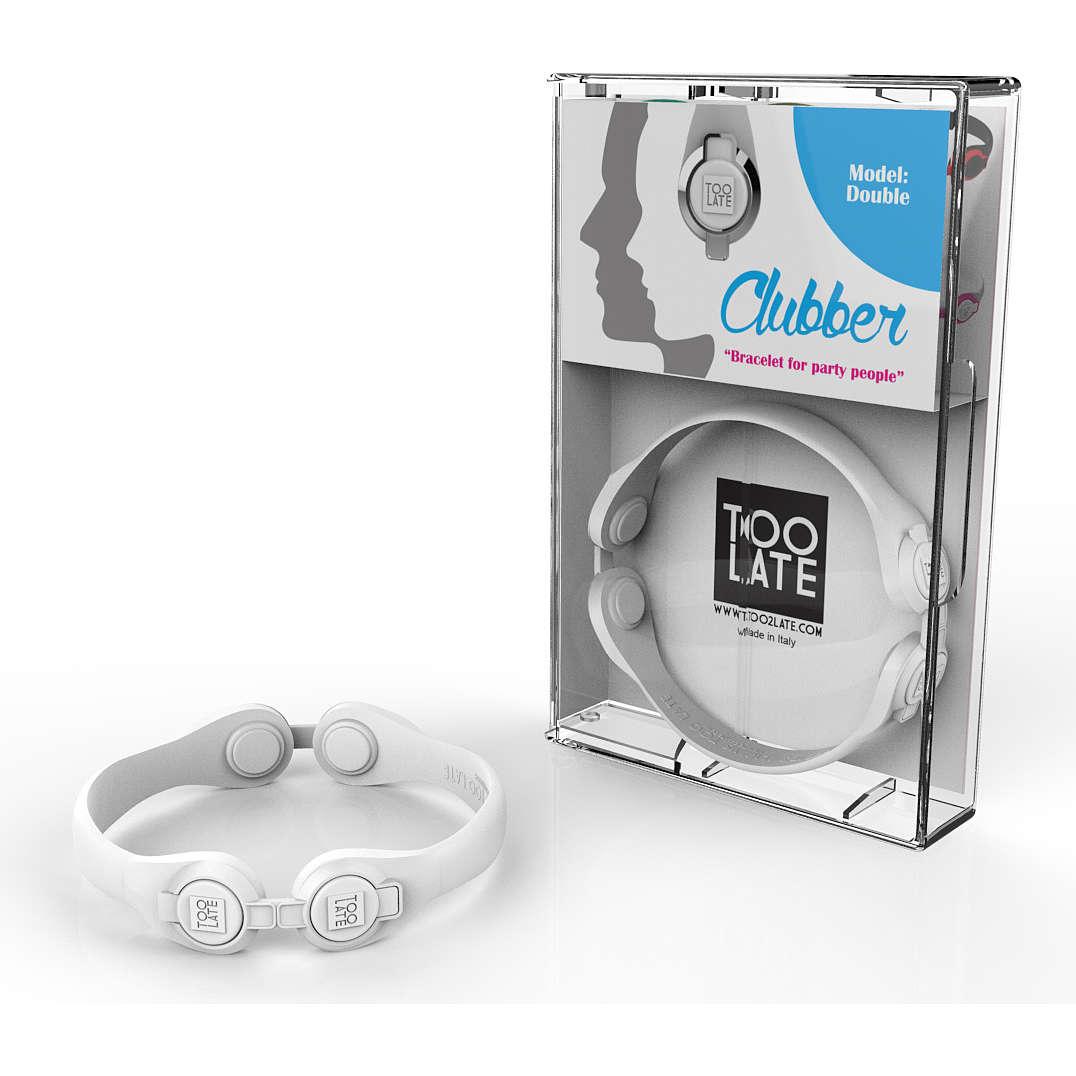 bracelet unisex jewellery Too late Clubber 8052745222577