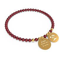 bracelet woman jewellery 10 Buoni Propositi Bon Bon B5110GO/RE