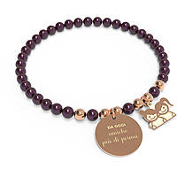 bracelet woman jewellery 10 Buoni Propositi Bon Bon B5117RO/BU