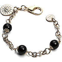 bracelet woman jewellery 4US Cesare Paciotti Black Pearls 4UBR1812W
