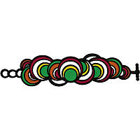 bracelet woman jewellery Batucada Dancing Circles BTC8-01-02-01VO