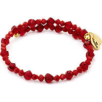 bracelet woman jewellery Chrysalis Gaia CRBW0013GPRED