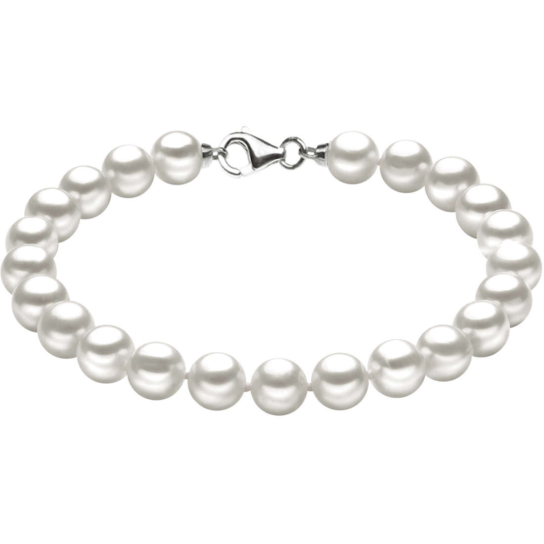 bracelet woman jewellery Comete Perle Argento BRQ 108 S21