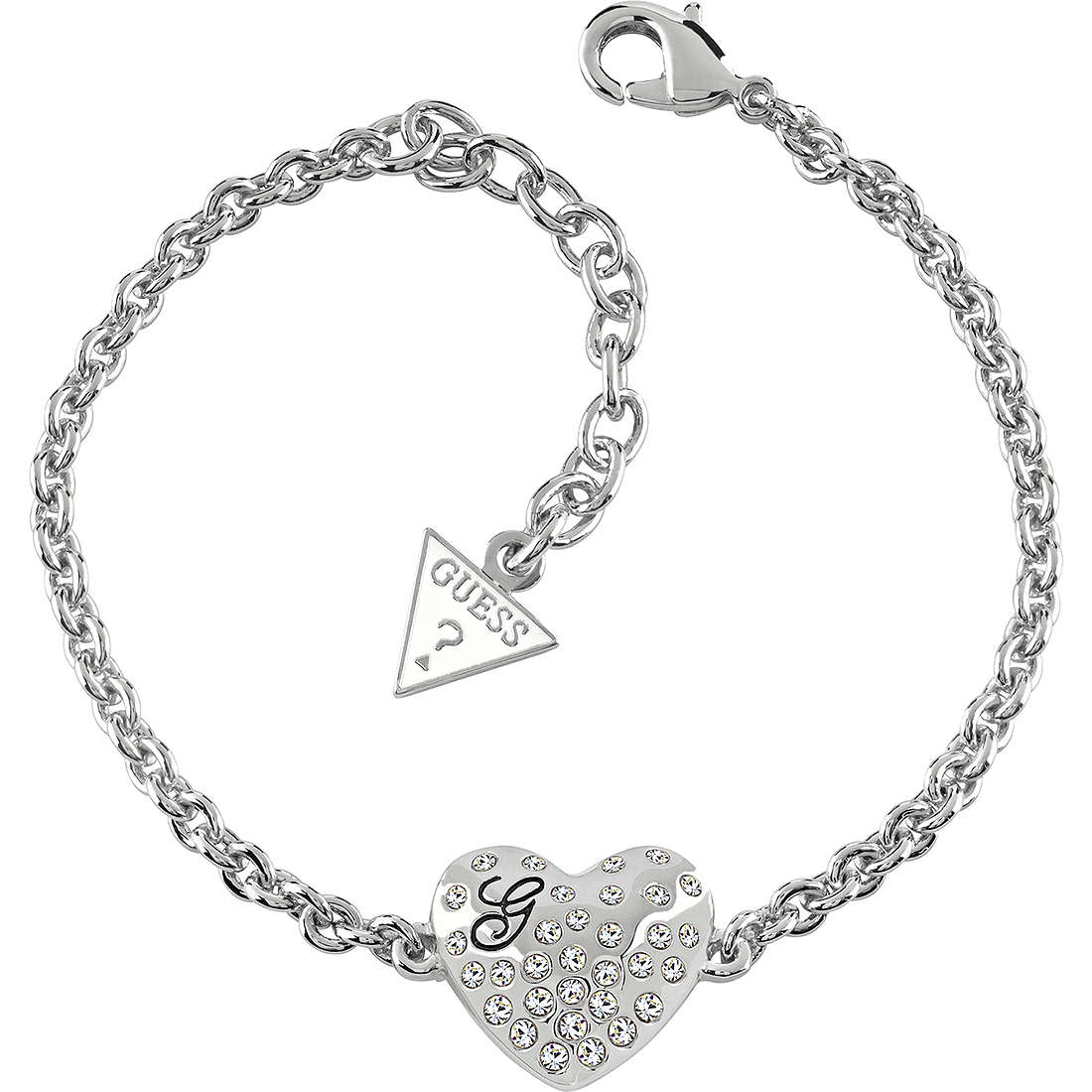 bracelet woman jewellery Guess GLOSSY HEARTS UBB51492