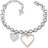 bracelet woman jewellery Guess Heart In Heart UBB84037-S