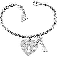 bracelet woman jewellery Guess Love Keys UBB83050-S