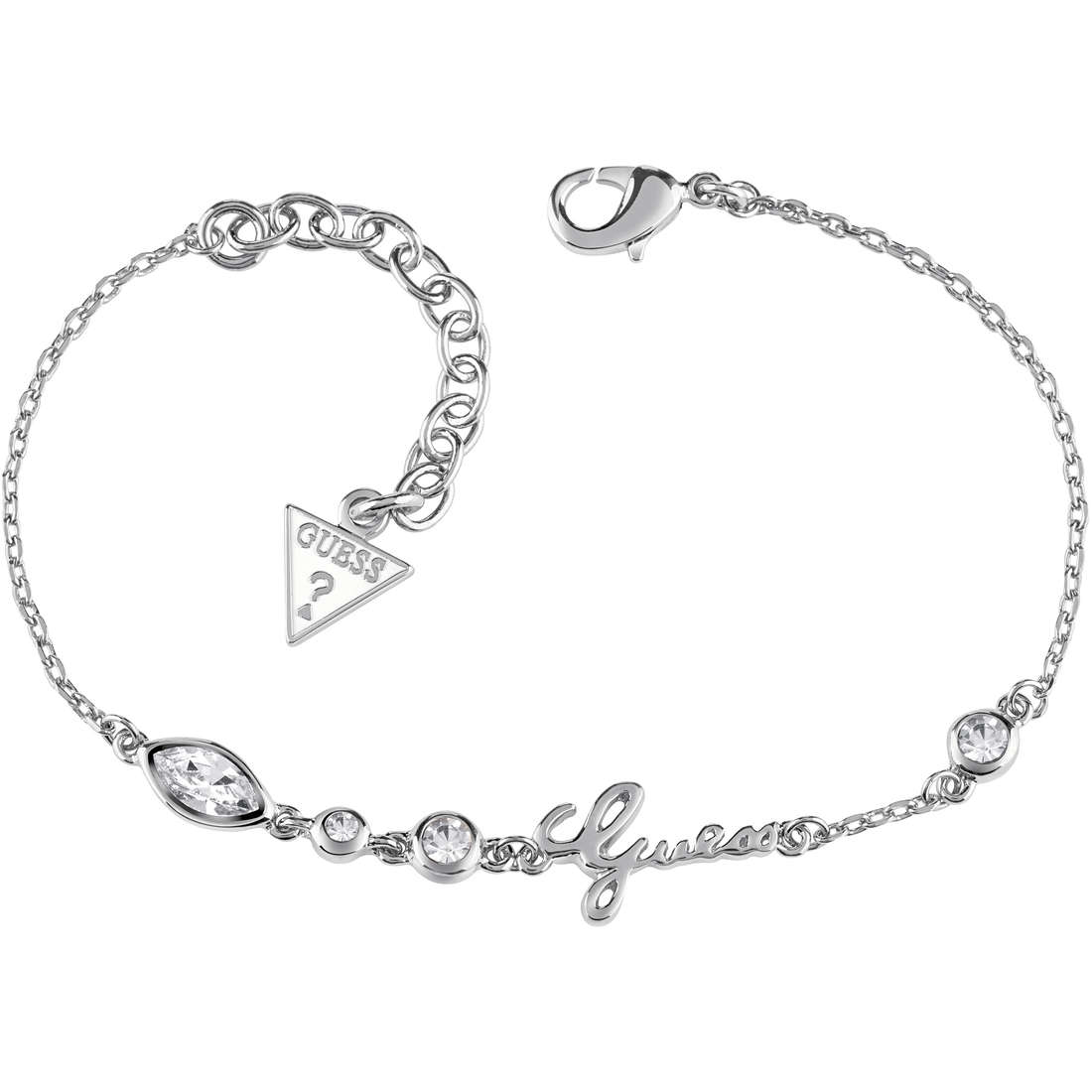 bracelet woman jewellery Guess Shiny Guess UBB61022-S