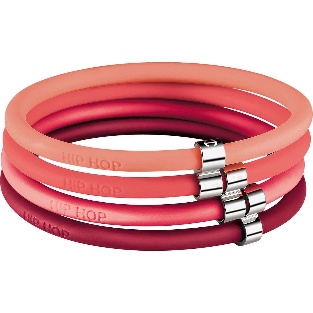 bracelet woman jewellery Hip Hop Happy Loops HJ0103