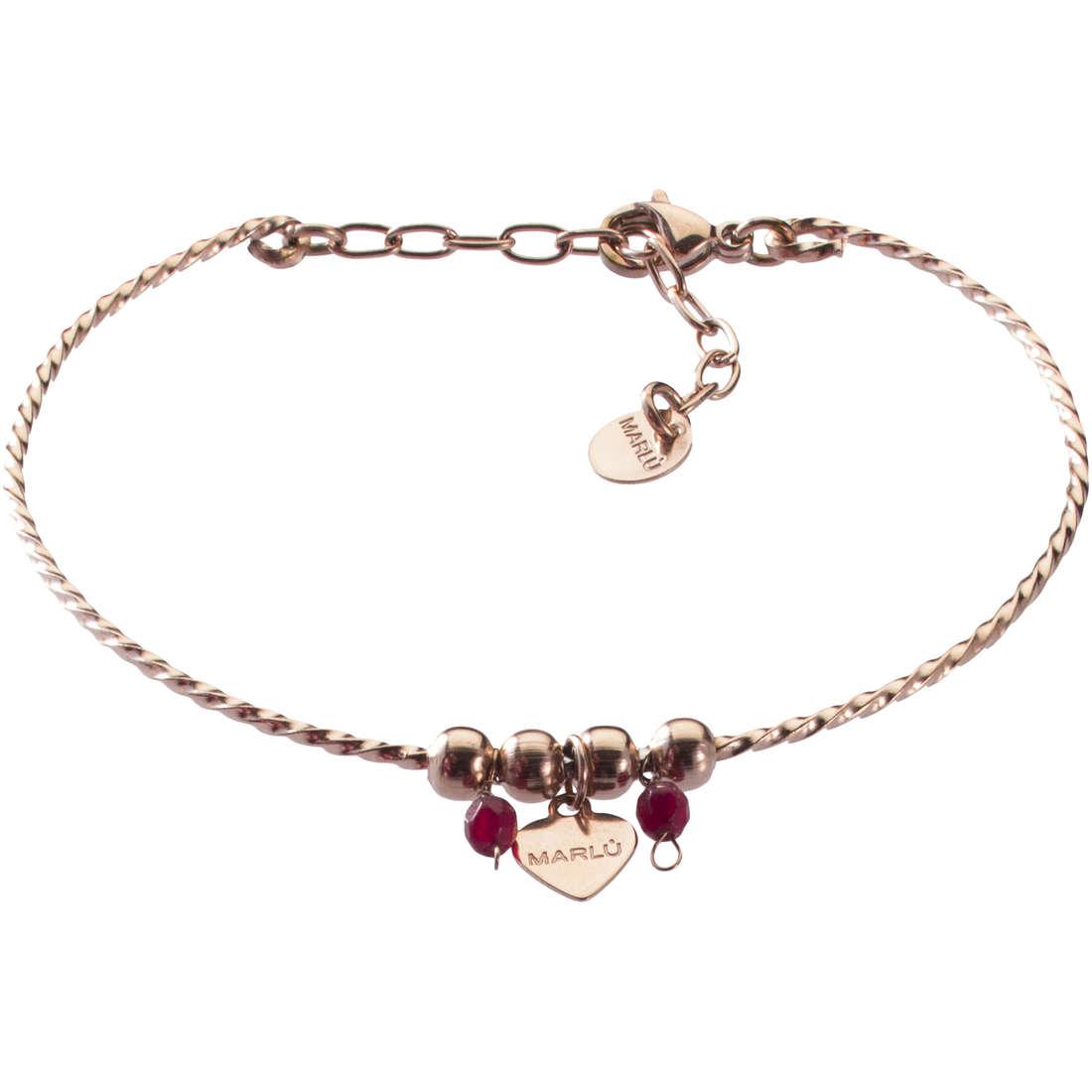 bracelet woman jewellery Marlù Clover 18BR041R