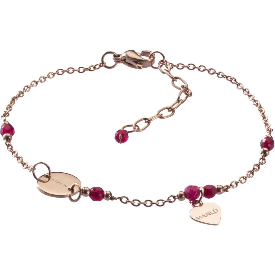 bracelet woman jewellery Marlù Clover 18BR043R