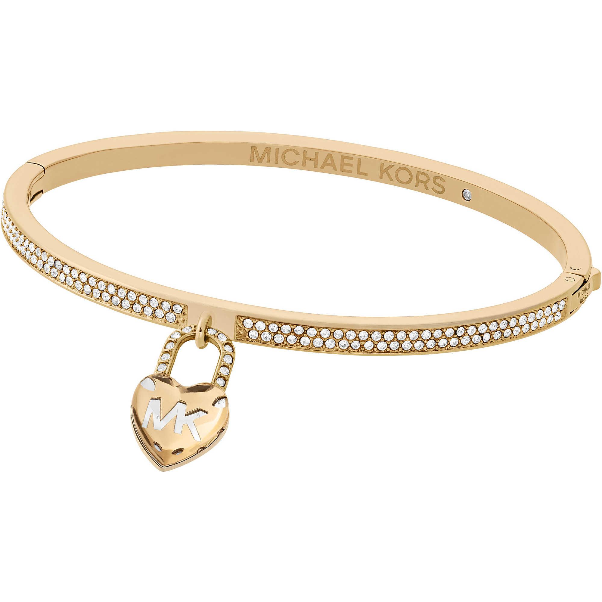 Michael Kors Women's Gold Bracelet MKJ7158710 UXUiXYQn