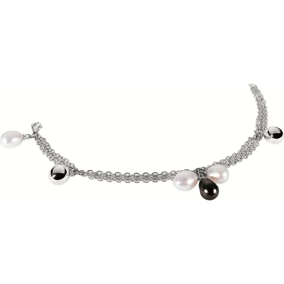 bracelet woman jewellery Morellato Black & White S8702