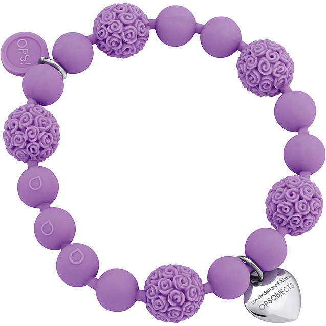 bracelet woman jewellery Ops Objects Boule De Rose OPSBR-247