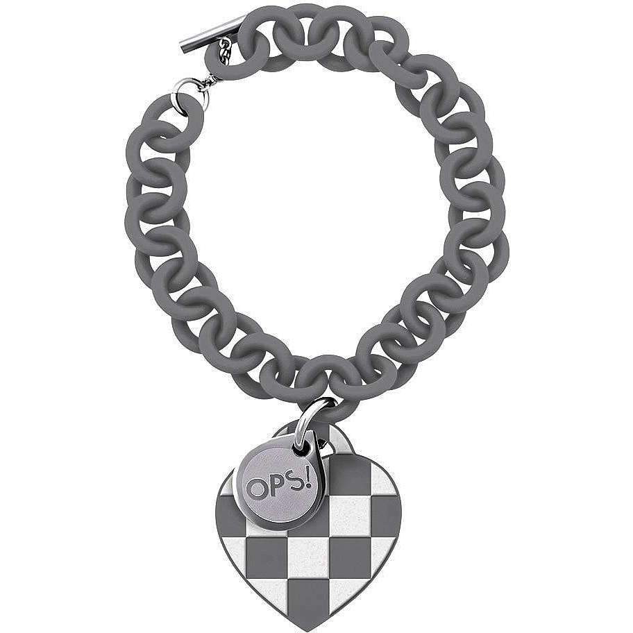 bracelet woman jewellery Ops Objects Damier OPSBR-102