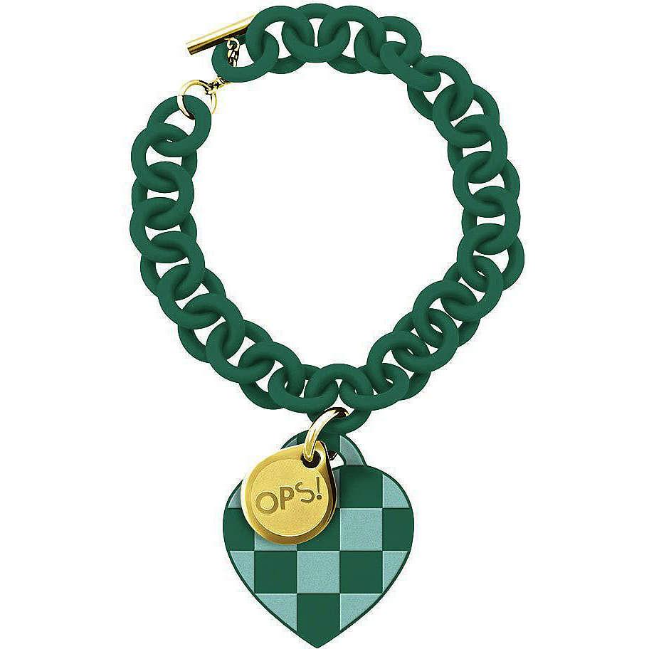bracelet woman jewellery Ops Objects Damier OPSBR-103