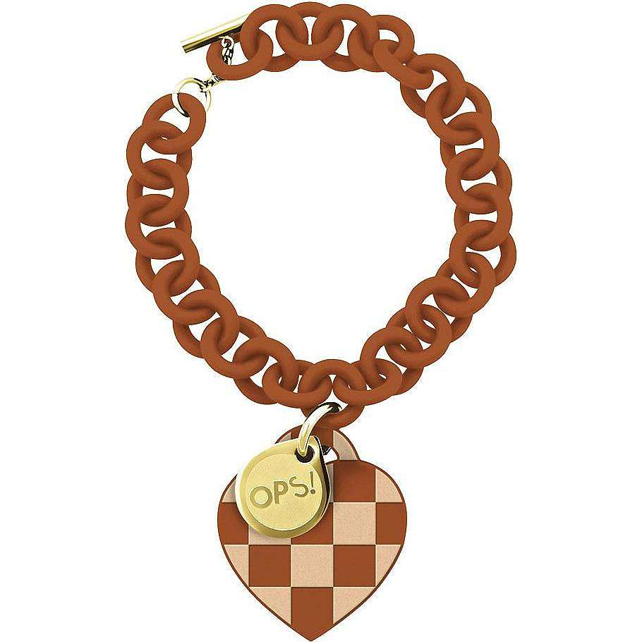 bracelet woman jewellery Ops Objects Damier OPSBR-107