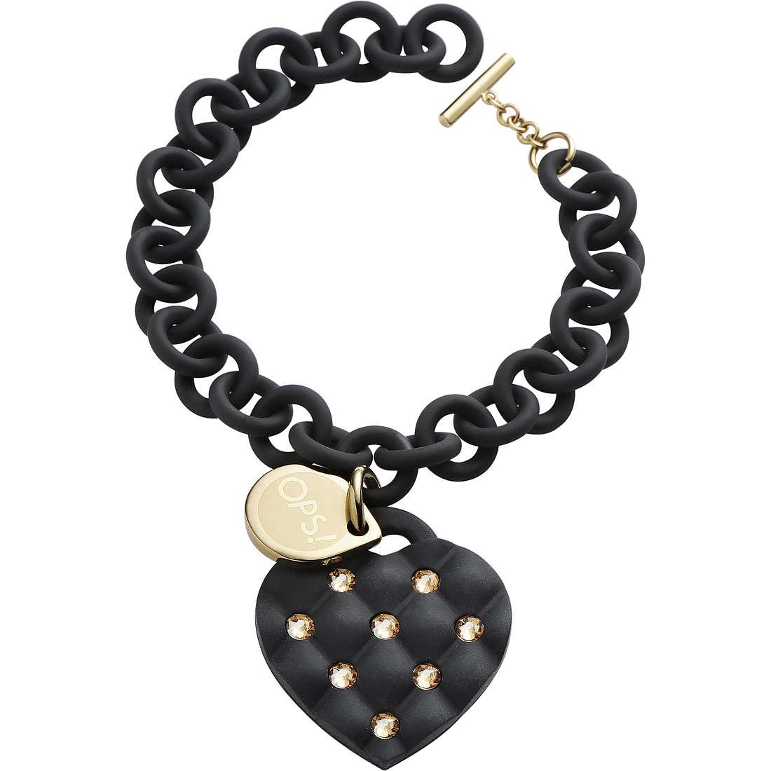 bracelet woman jewellery Ops Objects Matelassè Crystal OPSBR-235
