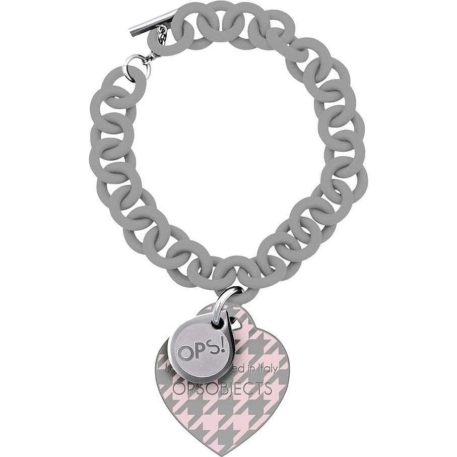 bracelet woman jewellery Ops Objects Ops! Pied De Poule OPSBR-160