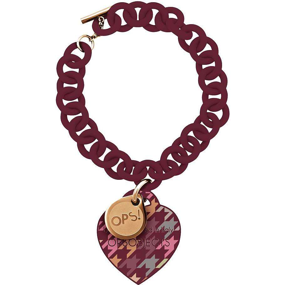 bracelet woman jewellery Ops Objects Ops! Pied De Poule OPSBR-164