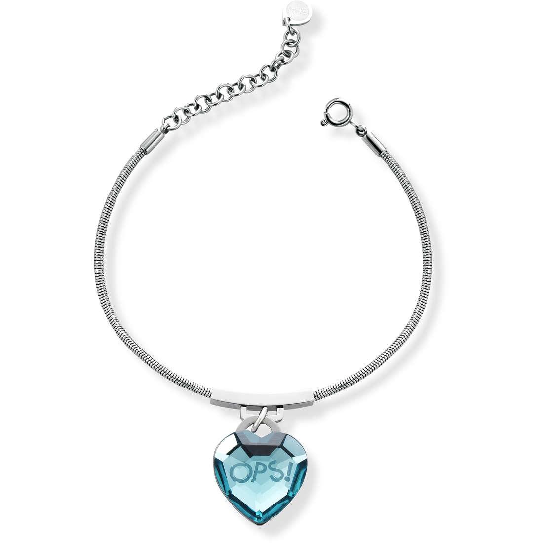 bracelet woman jewellery Ops Objects Shiny OPSBR-421