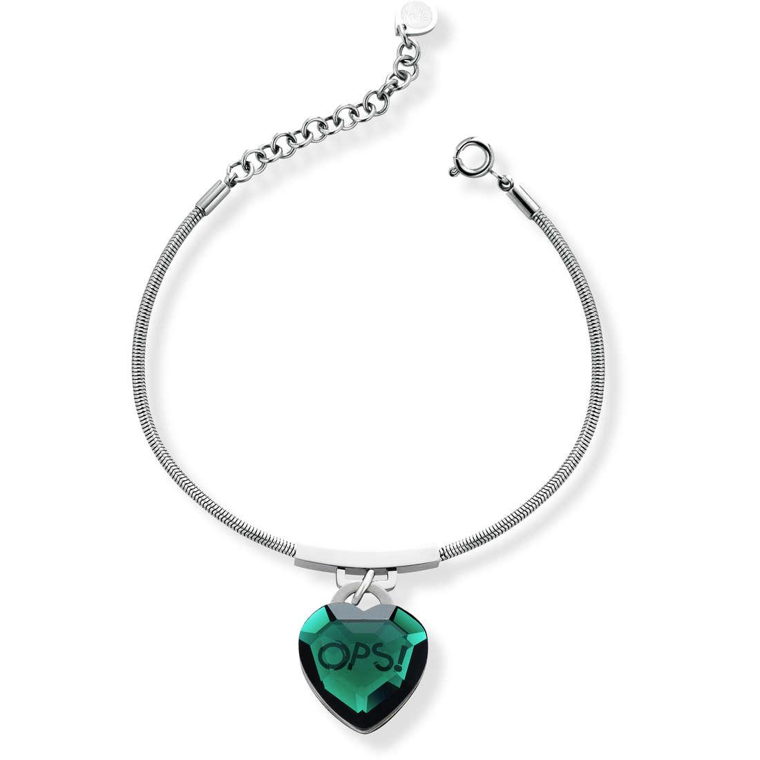 bracelet woman jewellery Ops Objects Shiny OPSBR-422