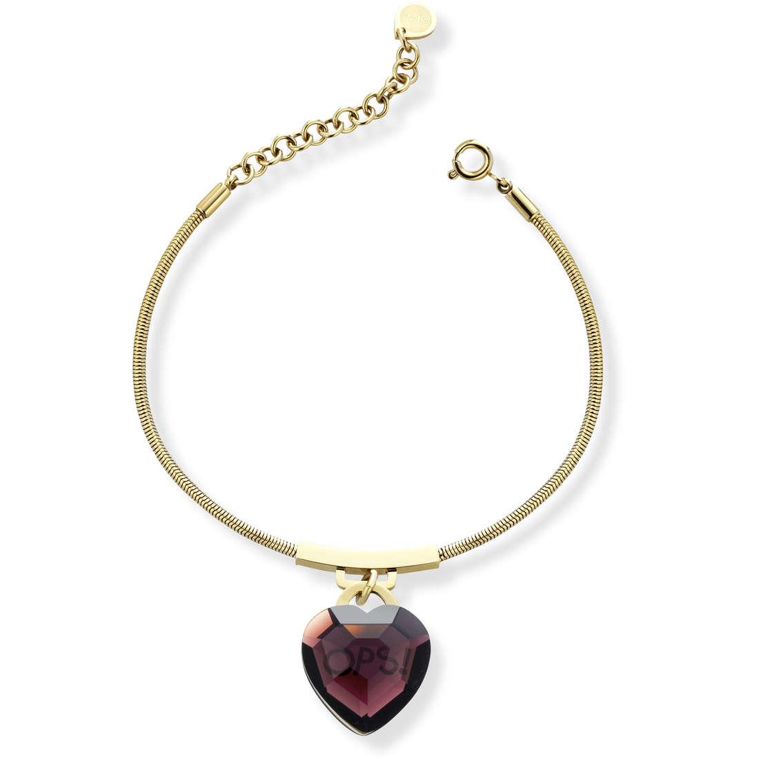 bracelet woman jewellery Ops Objects Shiny OPSBR-423