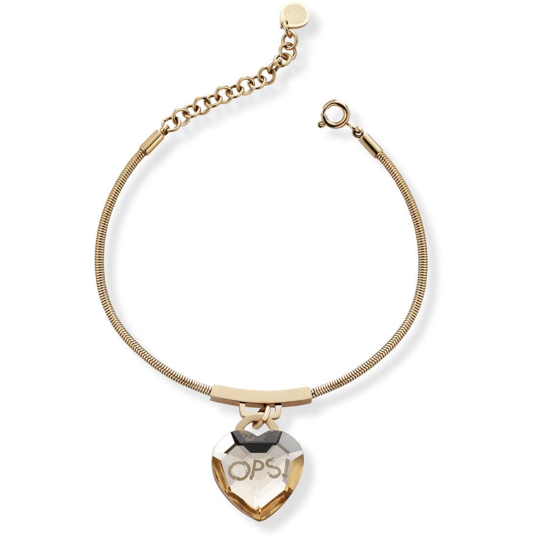 bracelet woman jewellery Ops Objects Shiny OPSBR-424