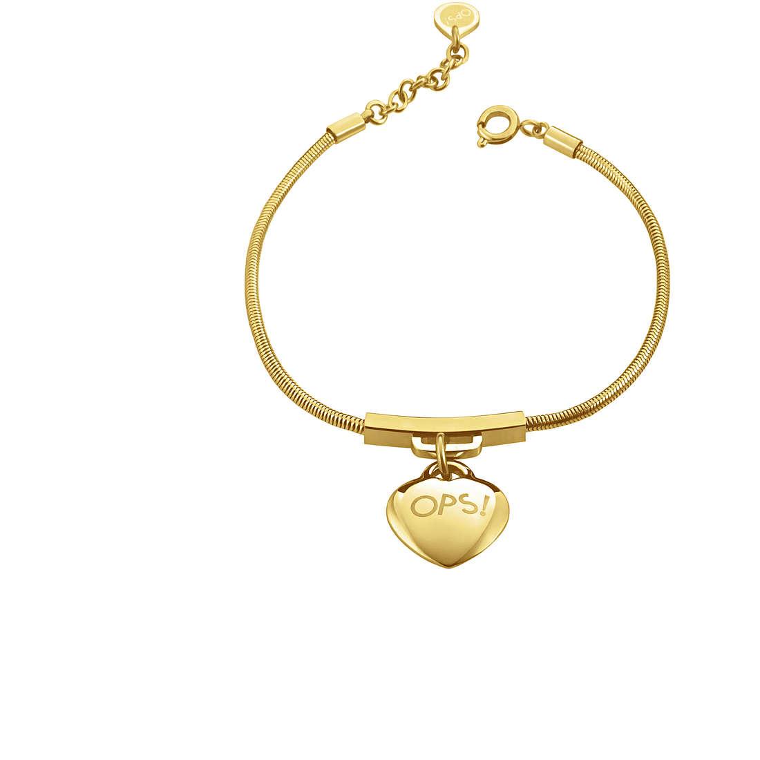 bracelet woman jewellery Ops Objects Snake OPSBR-366