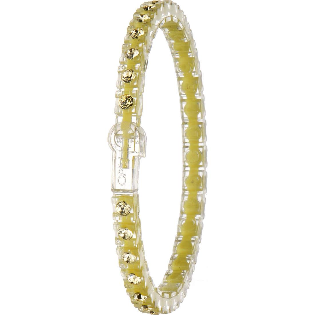 bracelet woman jewellery Ops Objects Tennis Nude OPSTEW-69