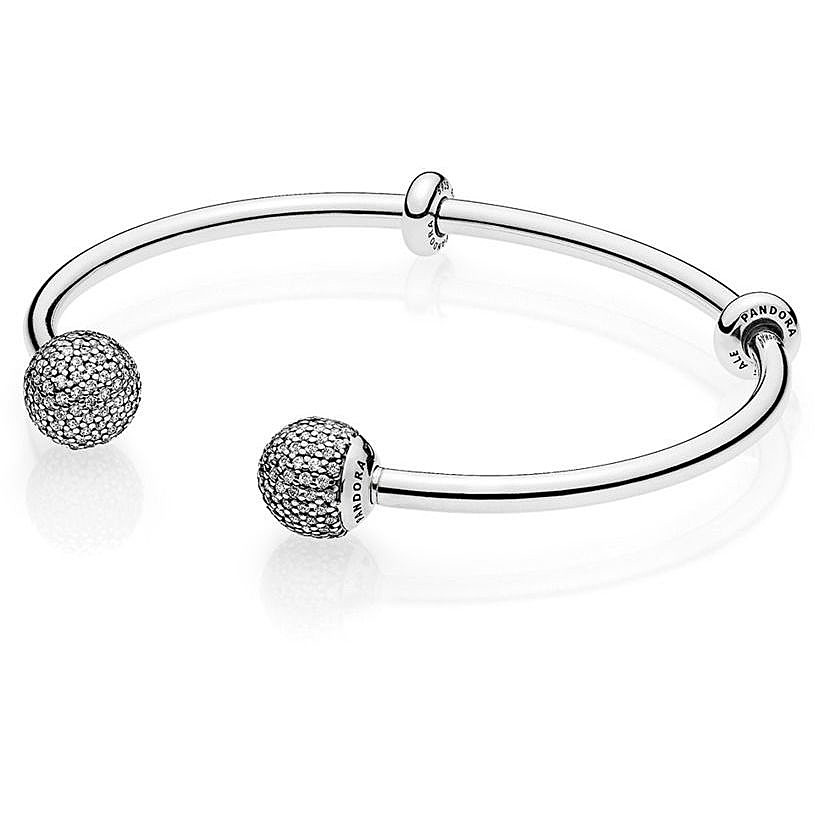 Pandora Women Silver Bangle - 596438CZ-2 8V3BzOoQr