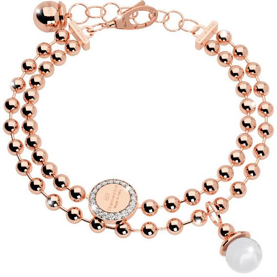 bracelet woman jewellery Rebecca Boulevard Pearl BBPBRR14