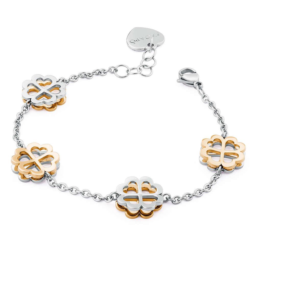 bracelet woman jewellery Sagapò BUTTERFLY SBF15
