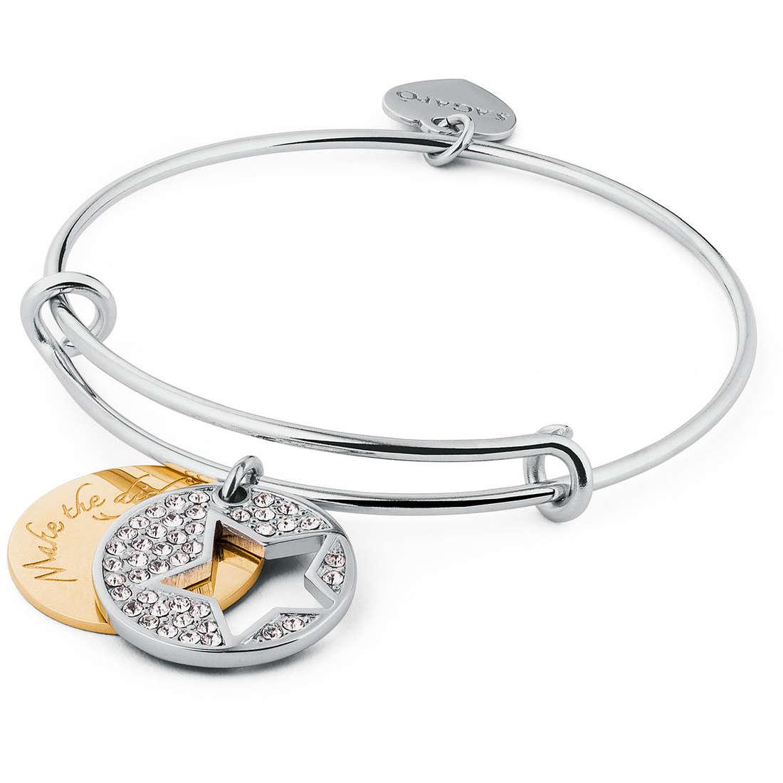 bracelet woman jewellery Sagapò Fortune SFO13