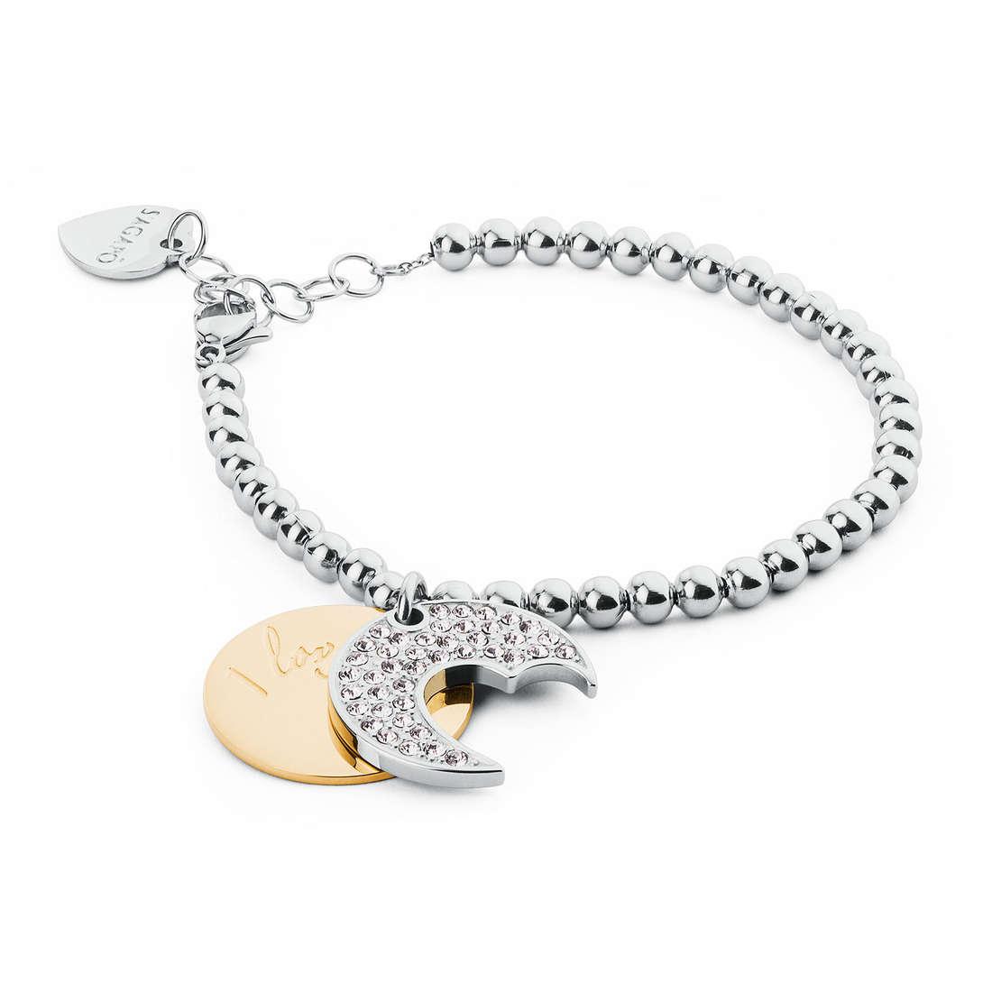 bracelet woman jewellery Sagapò Fortune SFO18