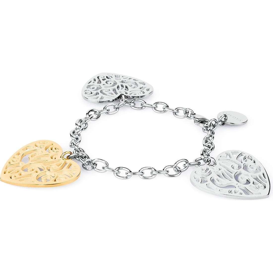 bracelet woman jewellery Sagapò Graffiti SGF12