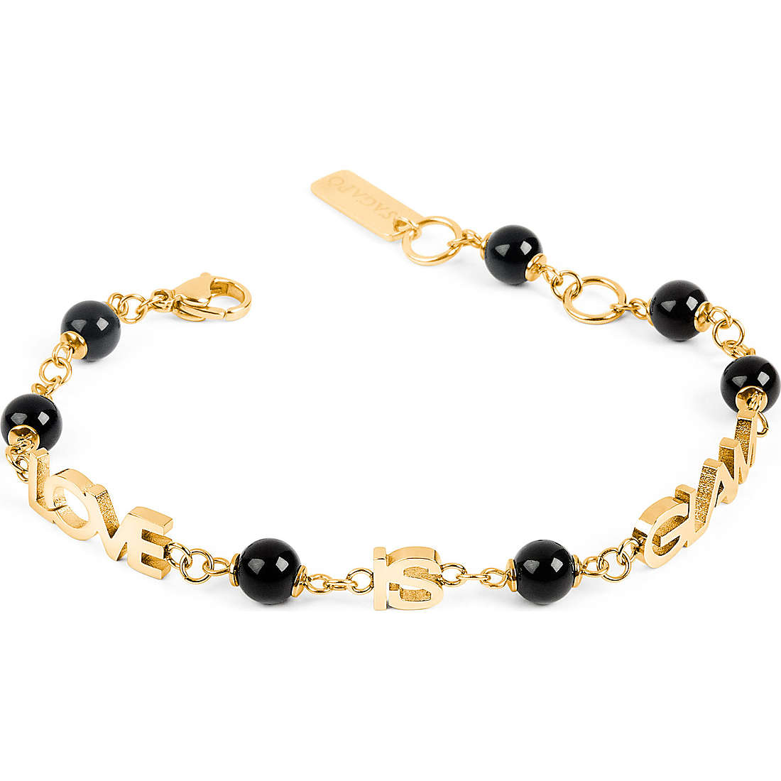 bracelet woman jewellery Sagapò Love is glam SLG01