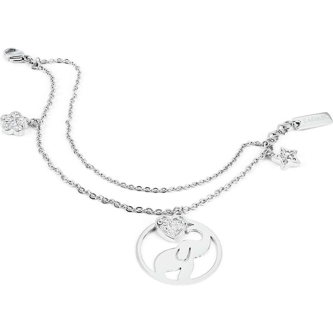 bracelet woman jewellery Sagapò Lucky Hoop SLH12