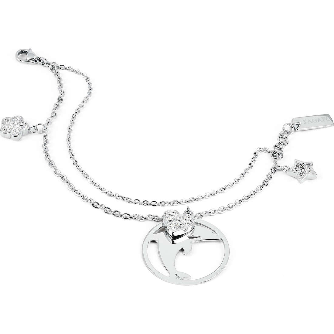 bracelet woman jewellery Sagapò Lucky Hoop SLH13